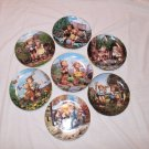 Hummel Collector Plates Little Companion Series Set of 7