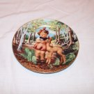 "Hummel Collector Plate ""Friends"" 1991 from Gentle Friends Series"