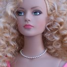 Silver pelline(ball) chain - Fashion Doll Jewelry