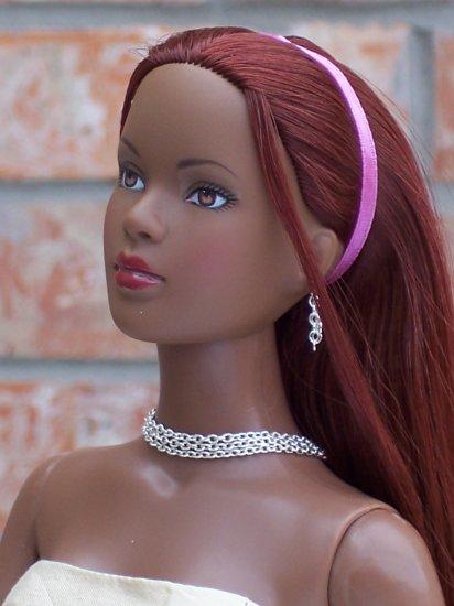 Triple layer sterling choker set - Fashion Doll Jewelry