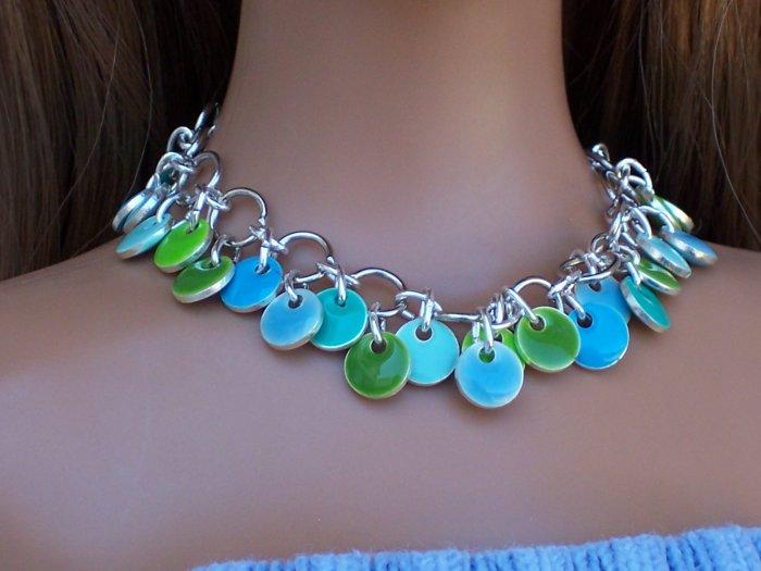 Seaside discs - Fashion Doll Jewelry