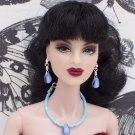 Light blue drop set - Fashion Doll Jewelry