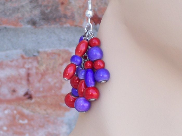 Red Hat jewelry- Wonder Bead set