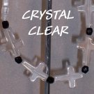 Crystal cross faith bracelet