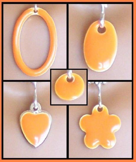 Orange Easy Switch pendant set - Fashion Doll Jewelry