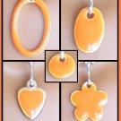 Orange Easy Switch pendant set - Fashion Doll Jewelry