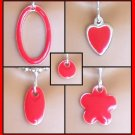 Red Easy Switch Pendant set - Fashion Doll Jewelry