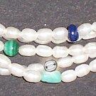 Freshwater pearl multi-strand bracelet