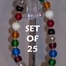 Colors of Faith bracelets - set of 25