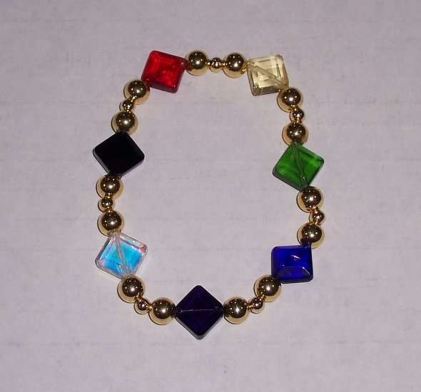 Colors of Faith Diamonds - bracelet