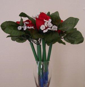 Red Rose Bud - Bloomin' Pen single