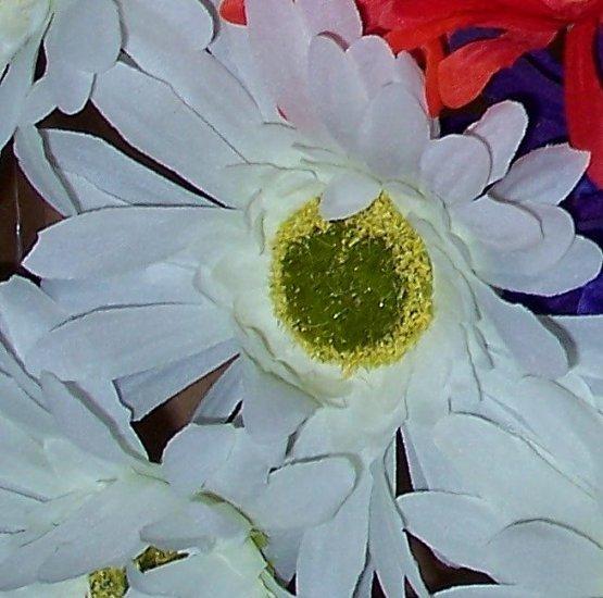 WHITE Bloomin' Pens - Gerbera Daisy flower pens