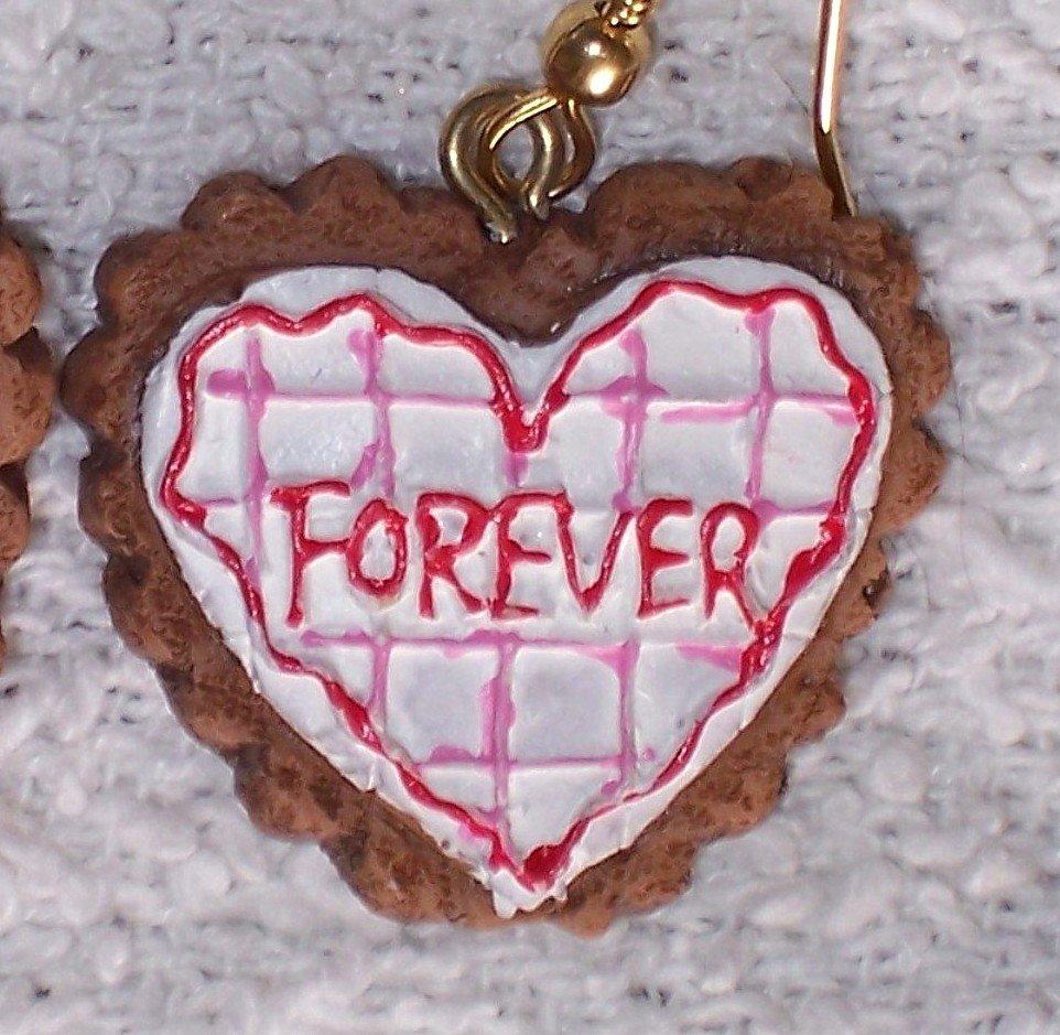 """""""Forever"""" earrings"""