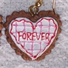 """Forever"" earrings"