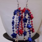 Patriot Dangler earrings
