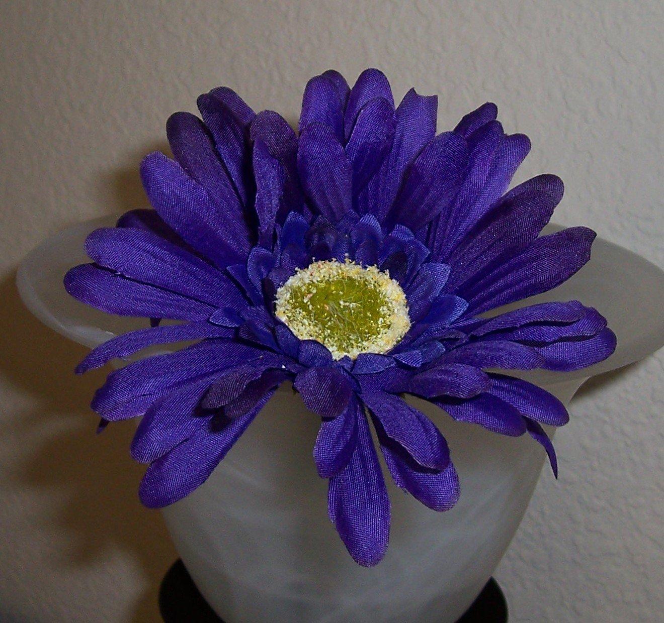 Deep Purple Bloomin' Pens - Gerbera Daisy flower pens