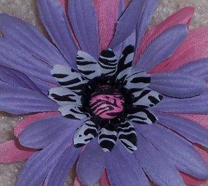 Wild Flowers - lavender zebra print bloomin pens