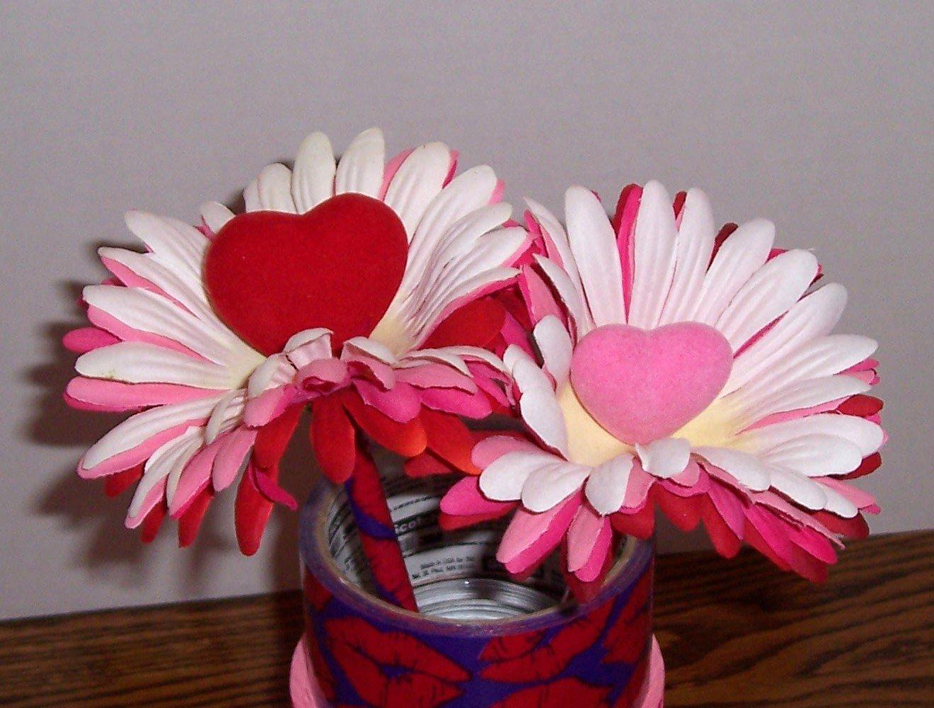 Valentine pens - Hearts and Petals