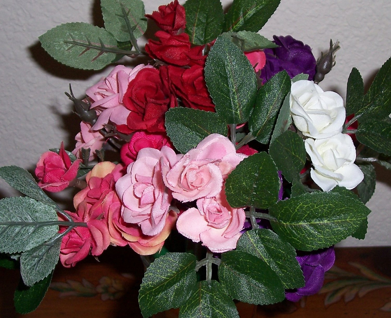 Dozen Mini Rose Flower pens