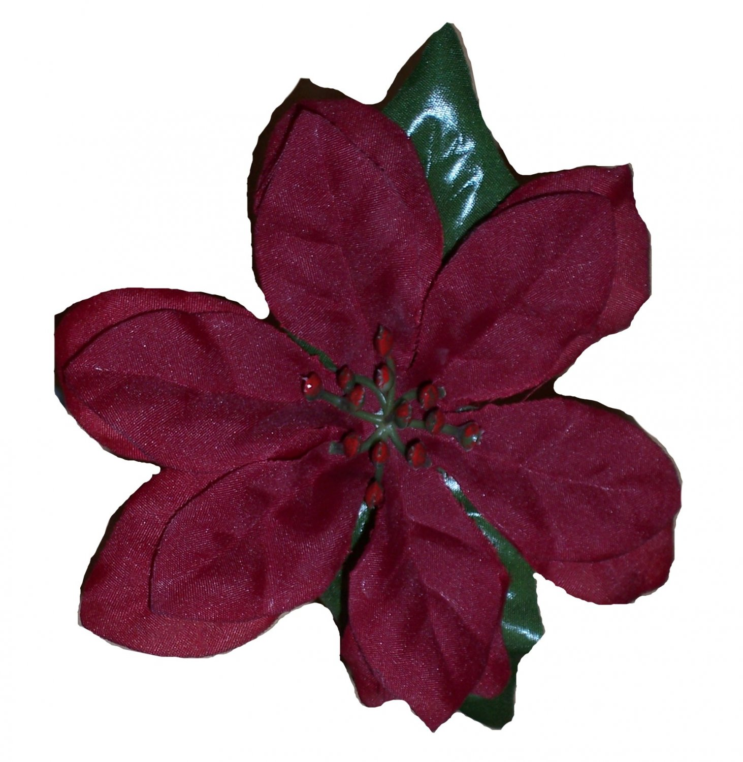 Poinsettia Flower Pens- set of 10