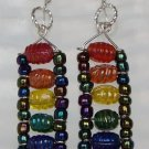 Rainbow Ladder Earrings
