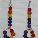 Rainbow Stack-n-Loop Earrings