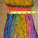 Standard Rainbow Scarf with fringe