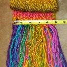 Standard Rainbow Scarf with fringe
