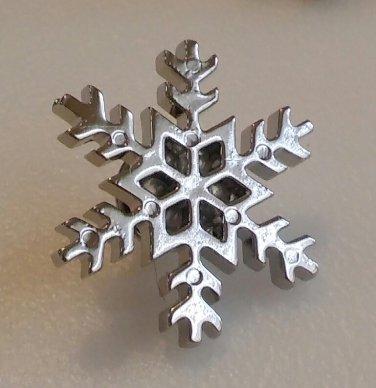 Snowflake Lapel pin - Large