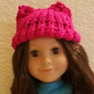 Pussy Hat for American Girl dolls