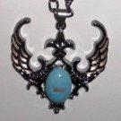 Winged Fleur-de-lis Necklace