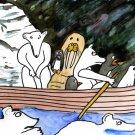 paddle! paddle swim! swim!