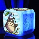 Totoro Cartoon #02 LED clock Digital Alarm Clock Kids Gift for Christmas