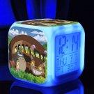 Totoro Cartoon #04 LED clock Digital Alarm Clock Kids Gift for Christmas