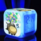 Totoro Cartoon #05 LED clock Digital Alarm Clock Kids Gift for Christmas
