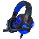0 Gaming Headset Over Ear Glowing Earphone Headband