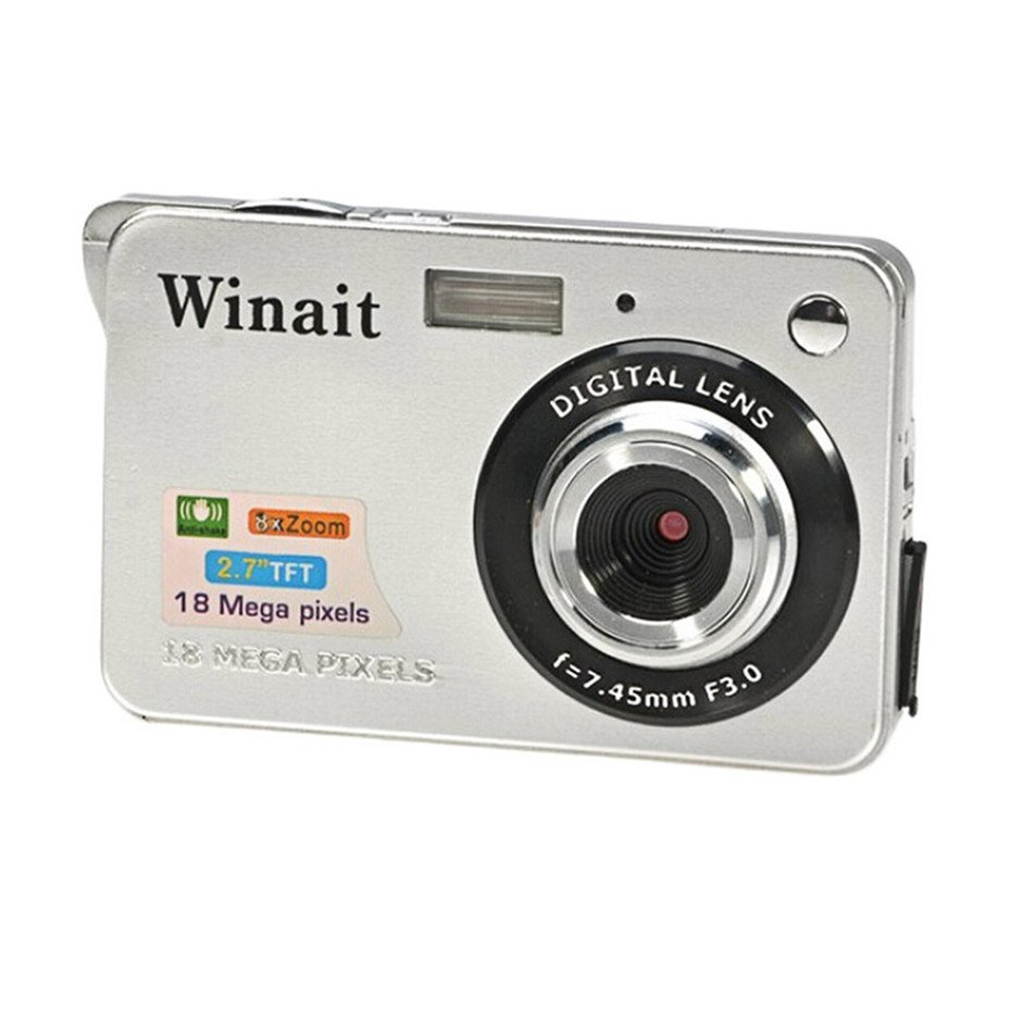 Mini Camera HD 500 CMOS 18 Mega Pixels 2.7 inch Camera TFT LCD Screen 720P Digital Camera