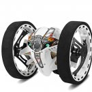 2.4GHz RC Car with Flexible Wheels Rotation LED Light Remote Control Robot Car