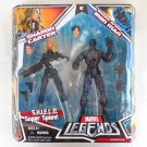 Marvel Legends Stealth Armor Iron Man & Sharon Carter Action Figure 2-Pack