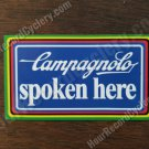 CAMPAGNOLO spoken here tool box shop sticker world champion vintage style