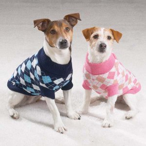 Argyle Turtleneck Sweaters