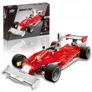 XingBao Xb 03023 Red Power Racing Car 2405 pcs Building Blocks Set