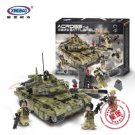 XingBao Xb 06015 Scorpio Tiger Tank 1386 pcs Building Blocks Set