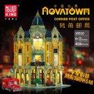 16010 Corner Post Office with LED lights 3050 Pcs Mould King Building Block Set