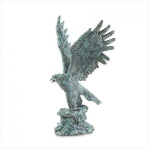 METAL EAGLE STATUE - Free Shipping