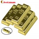 4GB USB Flash Drive Gold Bullion Bar Design
