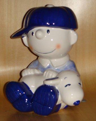 Snoopy & Charlie Brown ceramic Piggy Bank