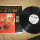 German Band Marches Record LP Album Vintage SF-14300 Heinz Bartels Conductor