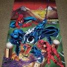 BIG Marvel Comic Spider-man 1 Venom Promo Giveaway Rare HTF Key Poster Daredevil
