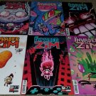 Oni Press Comics Invader Zim 1 2 3 4 5 6 NM+ Complete book set Variant Cover key